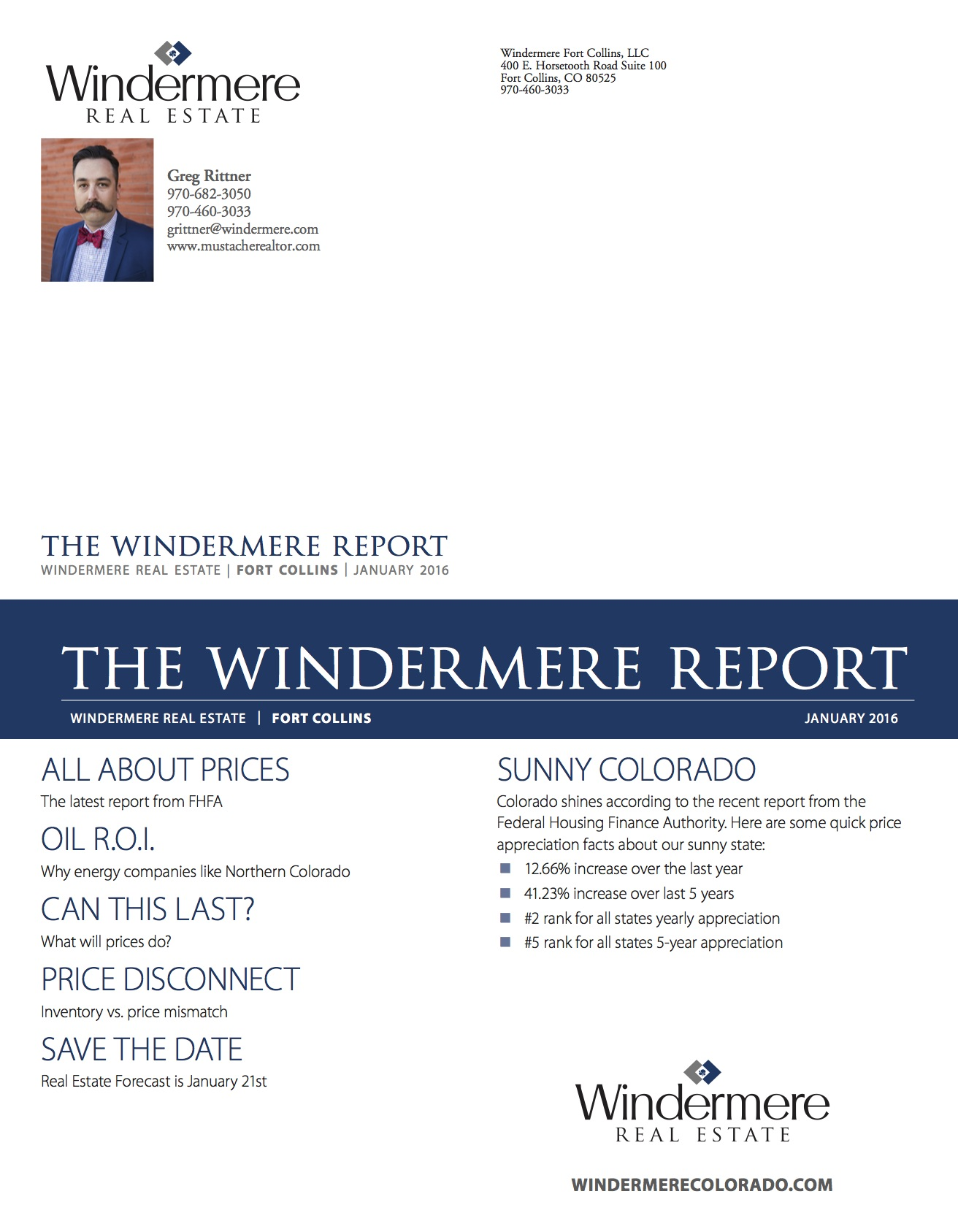 Windermere Report - January 2016 Pg. 2